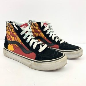 Vans Flame SK8-Hi ZIP High Top Sneakers
